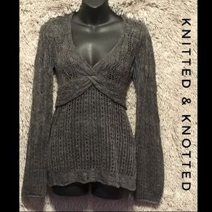 Anthropologie Knitted & Knotted Sweater